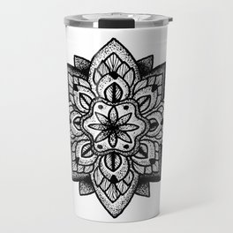 Mandala Curley Travel Mug