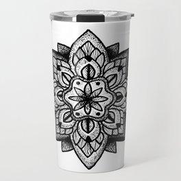 Mandala Curley Travel Mug