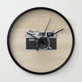 Canonet QL17 - vintage camera  Wall Clock