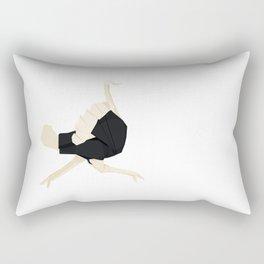 Origami Ostrich Rectangular Pillow