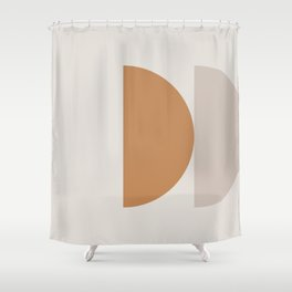Contemporary Composition 16 Shower Curtain