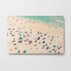 beach love - Nazare Metal Print