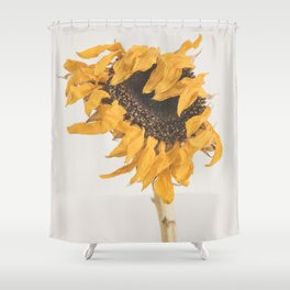 I'll Keep On Standing - Sunflower Shower Curtain