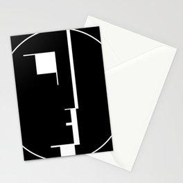 Oskar Schlemmer Bauhaus Logo Stationery Cards