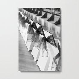chairs Metal Print