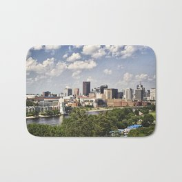 St. Paul in Summer Bath Mat