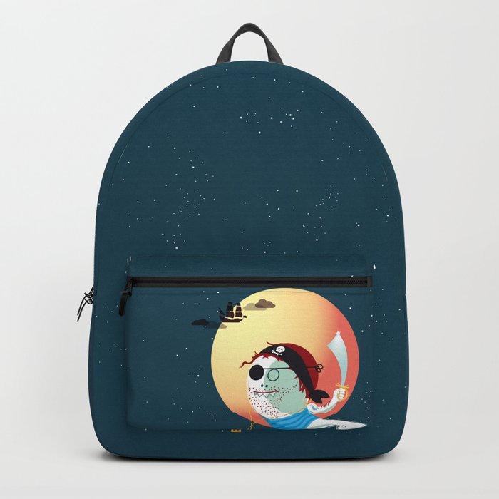 Captain Vermelho Backpack