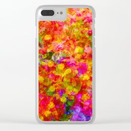 Potpourri of flowers Clear iPhone Case