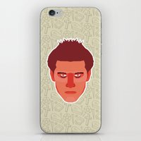 buffy the vampire slayer iPhone & iPod Skins featuring Angel - Buffy the Vampire Slayer by Kuki