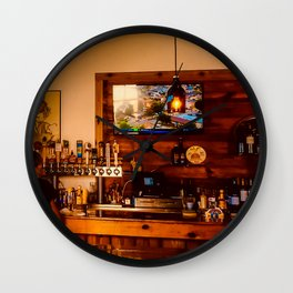 Bar in the Keys Wall Clock