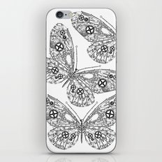 IRON BUTTERFLY iPhone & iPod Skin