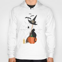 halloween Hoodies featuring Halloween by Julia Badeeva