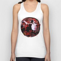boxing Tank Tops featuring Boxing MJ by Genco Demirer