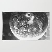 disco Area & Throw Rugs featuring Disco by ....