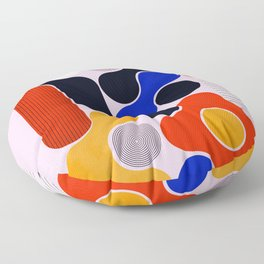 Mid-century no5 Floor Pillow