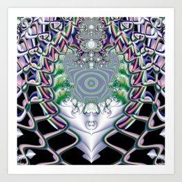 Fractal Abstract 43 Art Print