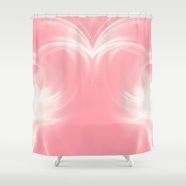 abstract fractals mirrored reacpw Shower Curtain