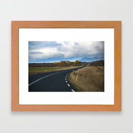 I.C.E.L.A.N.D - Ring Road Framed Art Print