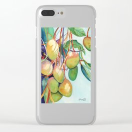 Mangoes Clear iPhone Case