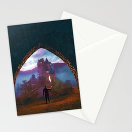 Castle Portal Colorful Stationery Cards