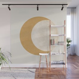 Moon Crescent - Gold Wall Mural