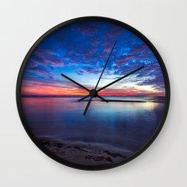 Gulf Coast Colors Wall Clock