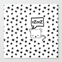 zZzzZ sleep tight Canvas Print