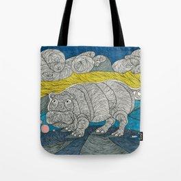 Hippo Lippo Tote Bag