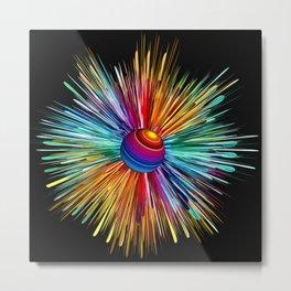 Color Explosion Three Metal Print