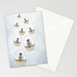 When meerkats fly Stationery Cards