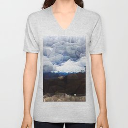 Storm On The Blueridge Unisex V-Neck