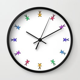 Happy Easter o2 Wall Clock