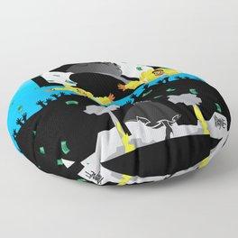 Mo Money. More Problems Floor Pillow