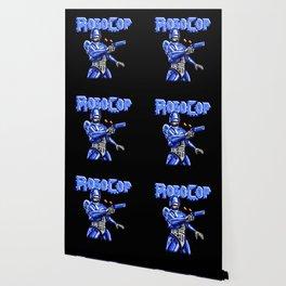 Robocop Pixel Art Wallpaper