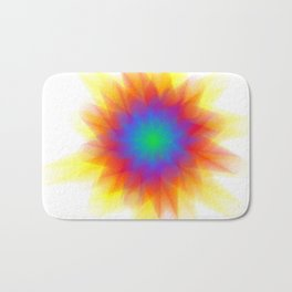 Rainburst Bath Mat