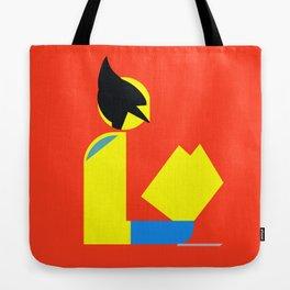 Weapon X Gentleman Reads Tote Bag