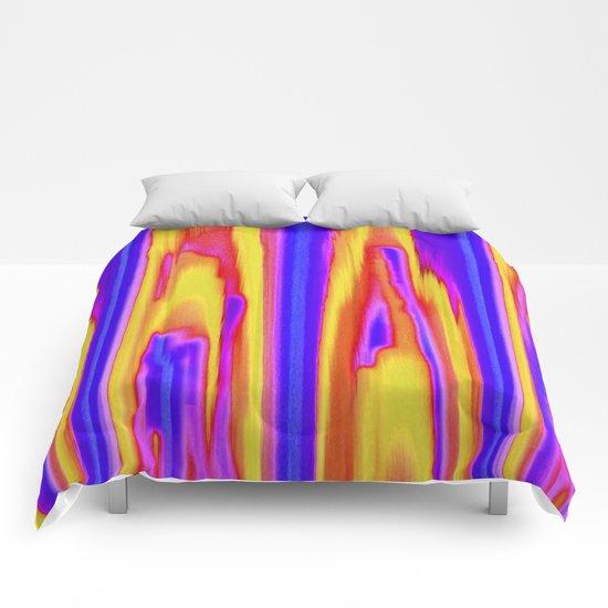 Tie Dye Sky Comforters