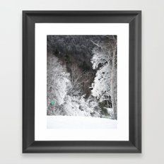 Frosted Framed Art Print
