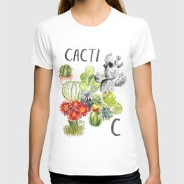 C is for Cacti T-shirt