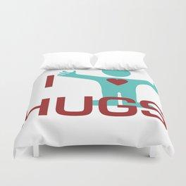 I heart Hugs Duvet Cover