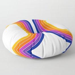 Rainbow Tunnel Floor Pillow
