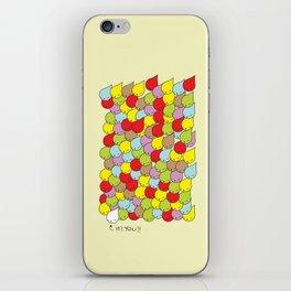 IT'S YOU iPhone Skin