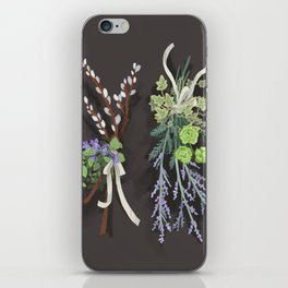 bouquets iPhone Skin