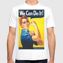 Vintage poster - Rosie the Riveter T-shirt