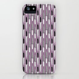 Double Knives in Mauve iPhone Case