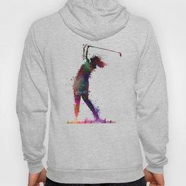 Golf player art 2 Hoody