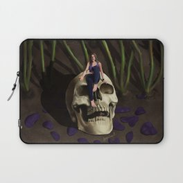 In The Garden At Night Laptop Sleeve