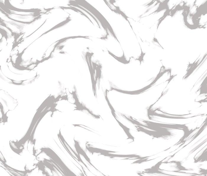 Marble Black and White Grey Gray Marble Swirl Metal Travel Mug