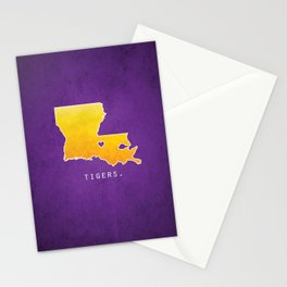 Louisiana State Tigers Stationery Cards