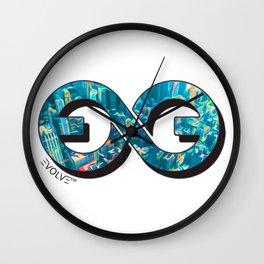 Evolve Logo Wall Clock